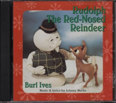RUDOLPH THE RED-NOSED REINDEER--BURL IVES--CD