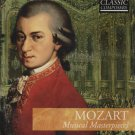 MOZART MUSICAL MASTERPIECES CD