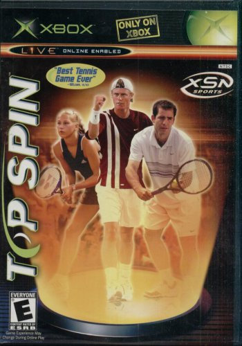 TOP SPIN--XBOX GAME