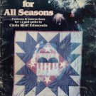 A QUILT FOR ALL SEASONS--PATTERNS & INSTRUCTIONS FOR 12 WALL QUILTS