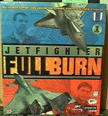 Jet Fighter Full Burn--PC Game--Windows 95