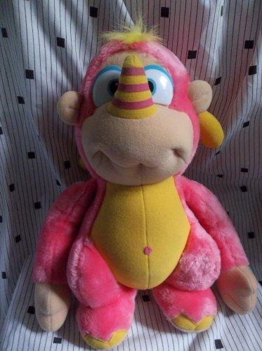Wuzzles Rhinokey stuffed plush softies Rhino Monkey 1984