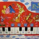 Winnie the Pooh Step-a-Tune Electronic Floor Keyboard