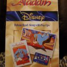 Disney's Aladdin Read Along Popup Book & Tape