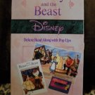Disney's Beauty & the Beast Read Along Popup Book & Tape
