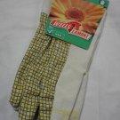 Wells Lamont Ladies Retro Garden Gloves - Sunflower Yellow