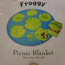 Sunny Patch Kid's Picnic Blanket - Froggy