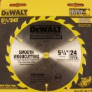 "Dewalt 5-3/8"" 24T Smooth Woodcutting Blade"