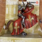 Schleich Red Tournament Knight on Horse 70018 retired