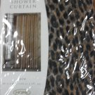 Home Leopard Print Shower Curtain