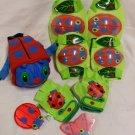 Sunny Patch Kid's Garden Ladybug Bike Set