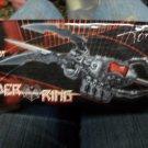 Black Widow Spider Ring Knife Blade