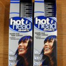 2 Hot Head Streak'n Electric Blue Wash-out Hair Color