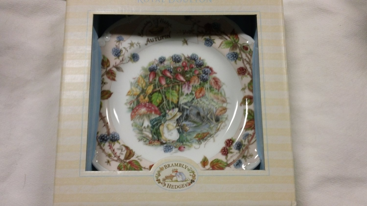 Brambly Hedge Royal Doulton AUTUMN Salad Plate