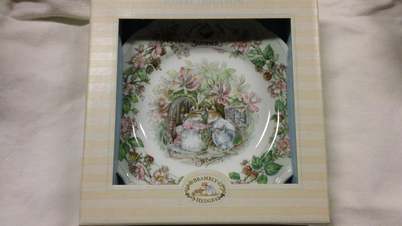 Brambly Hedge Royal Doulton SUMMER Salad Plate