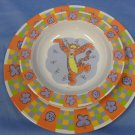 Winnie the Pooh's Dinner with Tigger Melamine Set