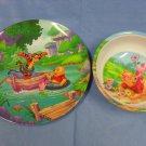 Winnie the Pooh's Melamine Summer Dinnerware Set