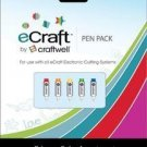 Craftwell eCraft Cutter Machine Primary Pens 5/Pack
