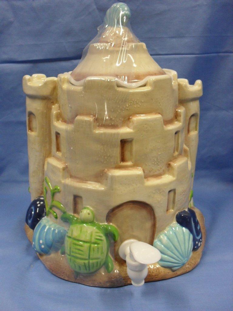 Painted Sand Castle Crafts