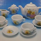 Vintage Teddy Bear Picnic China Tea Set