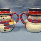 Vintage Snow Days Winnie the Pooh Cocoa Mugs Set