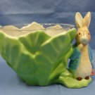 Vintage Beatrix Potter Peter Rabbit Planter