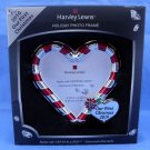 Harvey Lewis Swarovski Candy Cane Christmas Picture Frame