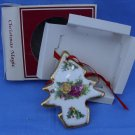 Royal Albert Old Country Roses Christmas Holiday Tree Ornament
