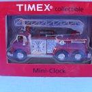 Timex Firefighter Fire Truck Mini Clock