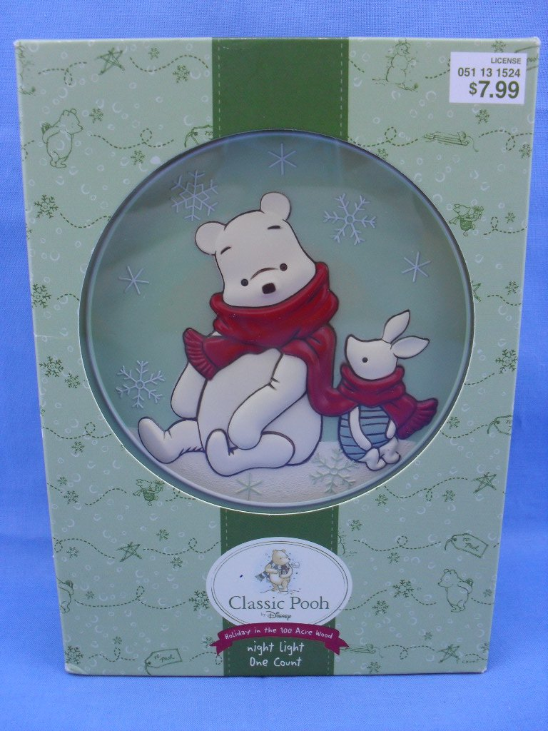 Classic Pooh Holiday 100 Acre Wood Night Light
