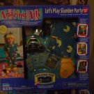 "Playmates Amazing Ally ""Let's Play Slumber Party"" Adventure Ware Pack Mint!"