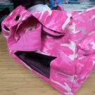 Boots & Barkley Pink Camo Pet / Dog Carrier