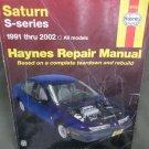 1991 - '99 Saturn All Models Haynes Repair Manual Teardown/rebuild