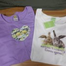 Girls T Shirt Sets - Easter Bunnies & Chicks