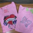 Girls T Shirt Sets - Princess & Butterfly