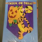 Halloween Winnie the Pooh Tigger Decorative Applique Flag