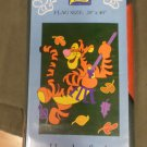 Fall Fun Winnie the Pooh Tigger Decorative Applique Flag