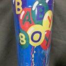 Baby Boy Announcement Party Balloons Decorative Applique Flag
