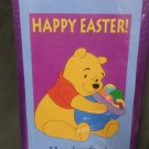 Easter Winnie the Pooh Decorative Applique Flag