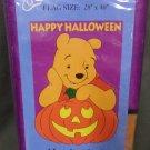 Halloween Winnie the Pooh Decorative Applique Flag