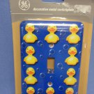 Rubber Duck Metal Switchplate Cover
