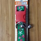 SimplyDog Holiday Christmas Dog Collar Green Lg