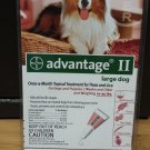 Advantage II For Large Dogs, Red, 4 - Pk.