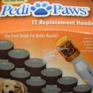 PediPaws Pet Nail Trimmer Replacement Heads 3 pack