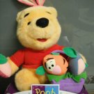 Winnie the Pooh Easter Plush by Fisher Price