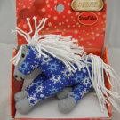 Breyer Ponies on Holiday Snowflake Tiny Plush Horse