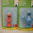 Sesame Street Elmo & Cookie Monster Figurines