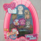 Puppy in your Pocket Charm Basket Easter Set - Type 2