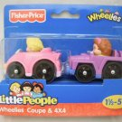 Fisher Price Little People Wheelies Coupe & 4x4
