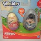 Playskool Weebles Easter Music Set